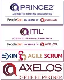 Logos ITIL PRINCE2 SCRUM